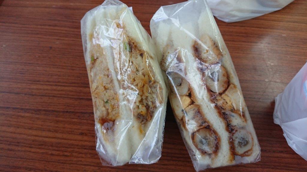 伝説のコンビニ⁉普通のサンドイッチでは物足りない方へ【立山サンダーバード】