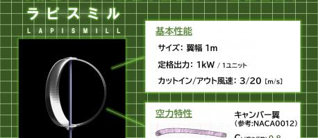 美しい景観を守る透明風車をデザインしてみた【富山デザインコンペファイナリスト作品】