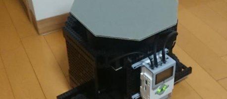 大掃除が大変なのでゴミ箱ロボットをつくってみた【LEGOマインドストームEV3】