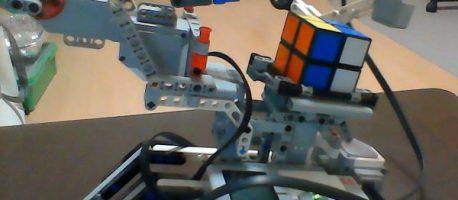 自動でルービックキューブを揃えるロボットを作ってみた【LEGO EV3×MATLAB】