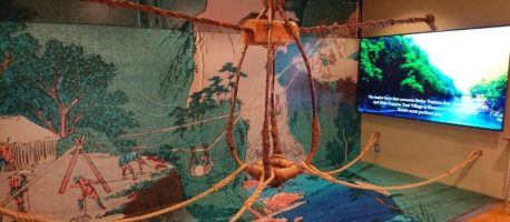 """命懸けの川越え【籠渡し】をVR体験!富山県最南端の街""""猪谷""""で歴史を学んでみた"""