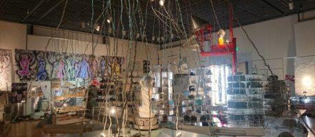 庄川美術館で開催中の【奇想天外・岡部館】で新しい世界を味わった話